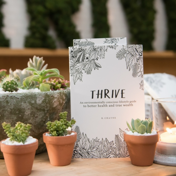 "Kaméa Chayne ,  Thrive: An environmentally conscious lifestyle guide to better health and true wealth   ""The volume is remarkable in its ability to condense material of substance into bite-size segments... In this respect, the book delivers an impressive format: an encyclopedic work in scope that has been adapted to contemporary environment for people who have neither the inclination nor the time to read a lot of specifics."""