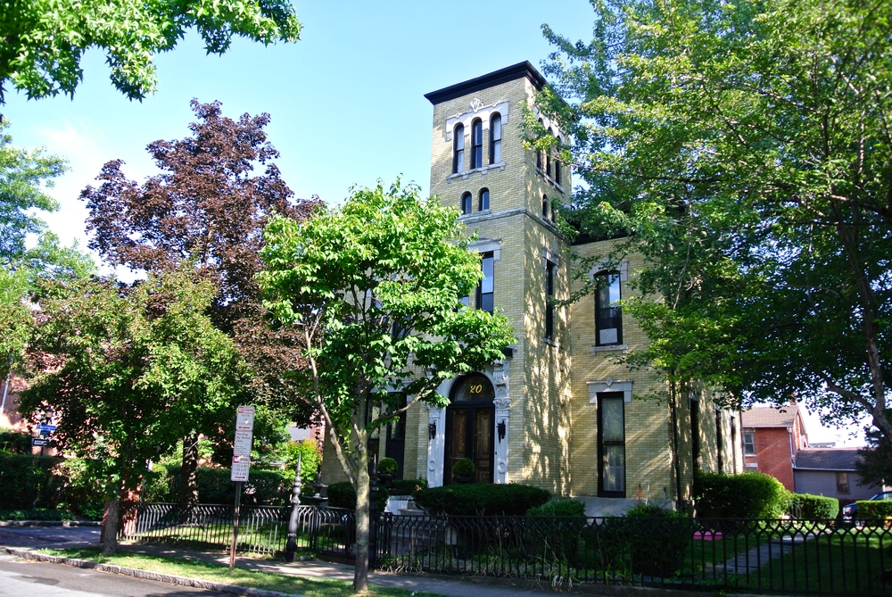 Stunning brick home in the oldest residential neighborhood in Rochester, NY. Live in the vibrant urban village and walk to get the best Sunday sauce in town at Tony D's. Grab a glass of wine at Flight Wine bar or take a scenic stroll along the Genesee River.