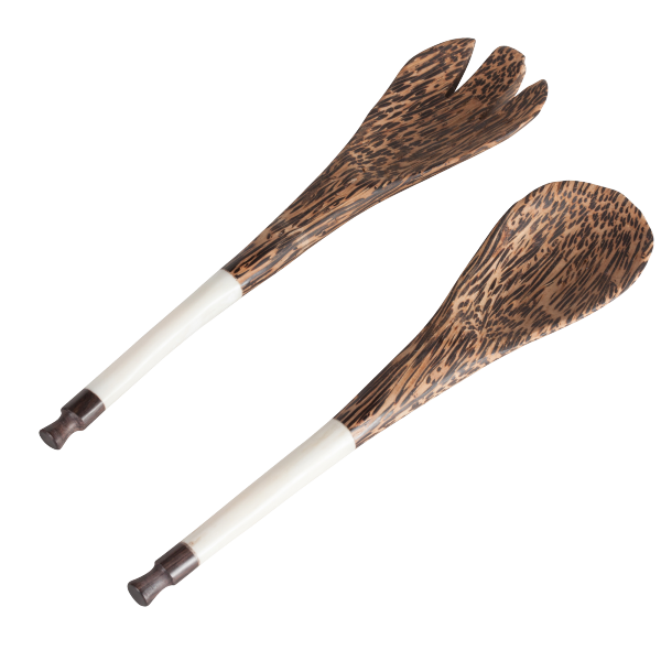 Coco Wood Serving Set
