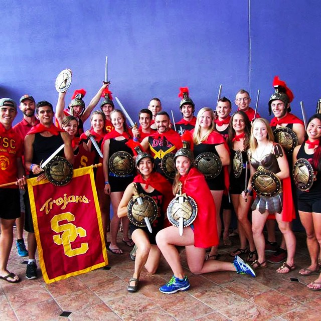 - The USC Triathlon Team proudly won the Spirit Award at the 2013 USA Triathlon Collegiate National Championships in Tempe, AZ, out of more than 100 teams!