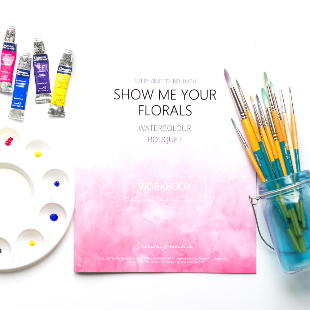 Floral Bouquet Workbook