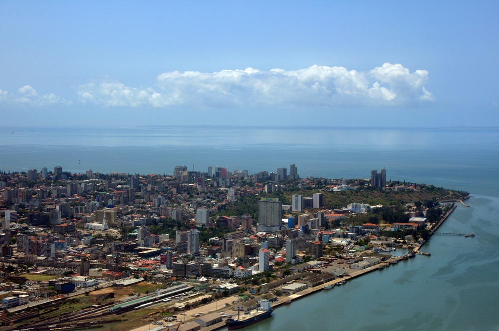 View of Maputo city