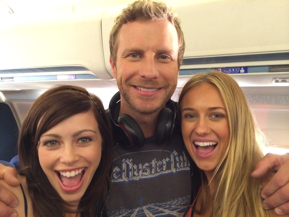 Skyler, Dierks Bentley, and Alexis Codding