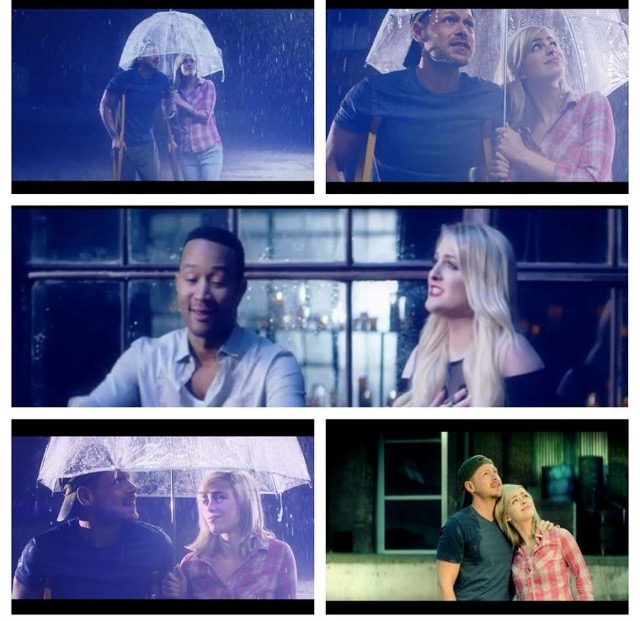 "Takes from the music video ""Like I'm Gonna Lose You"" with Megan Trainor and John Legend"