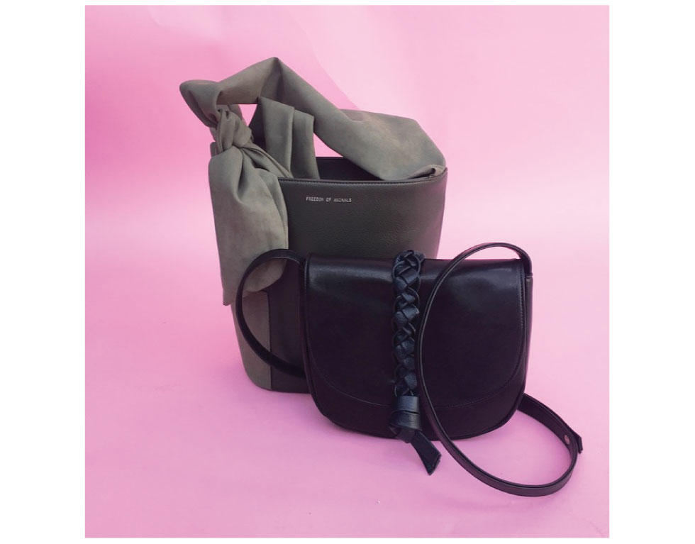 Our friends at Freedom of Animals have a great, luxurious line of vegan handbags. They are huge on animal advocacy and pit bulls in particular :)  Visit their website for more!