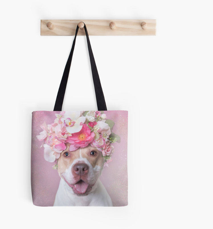 My Flower Power tote bags are an awesome conversation starter! The proceeds from these help me continue my mission!  Visit my RedBubble store for more products!