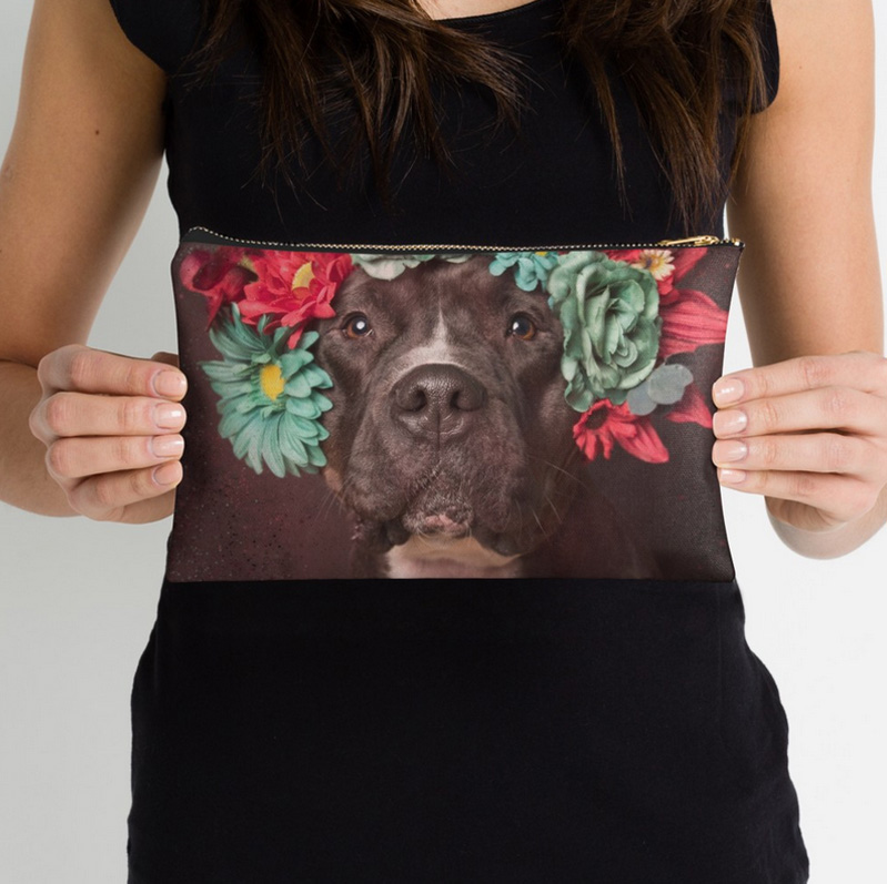 Zipped pouch - My favorite item! Come in 3 sizes. Ships worldwide.