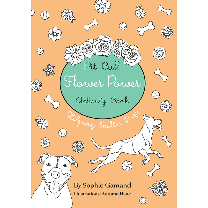 Activity Book - Coloring activities and games, teaching children about shelter dogs, prejudice, and how to help. Ships worldwide.