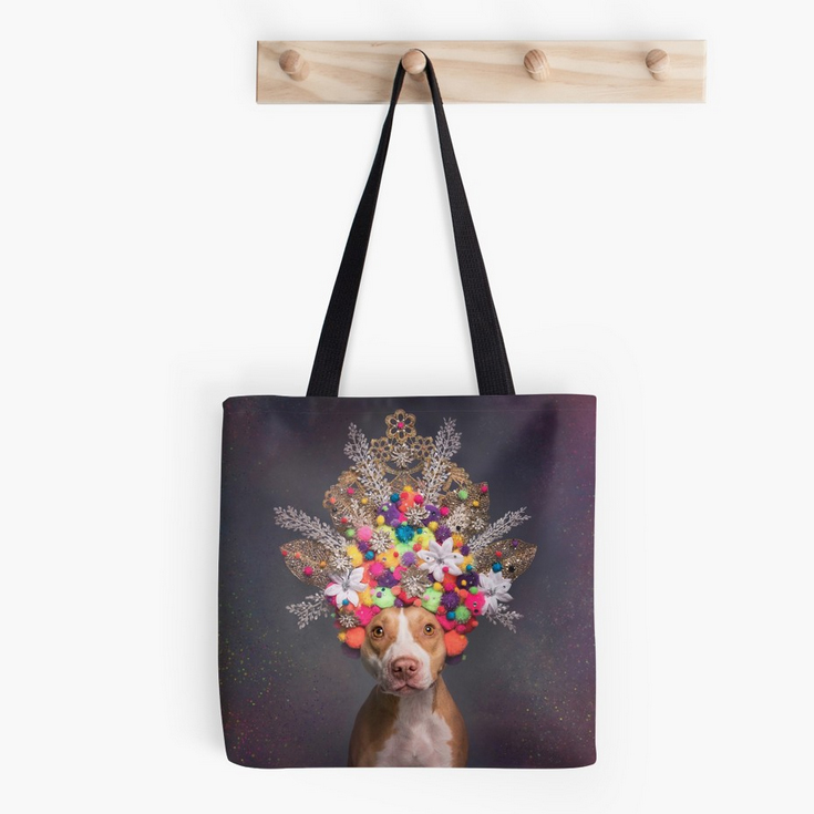 TOTE BAGS. Many different designs and 3 sizes available.  Selected design printed on both sides. 1 inch wide super strong cotton shoulder strap (14 inch length). Soft yet hard wearing 100% spun Polyester Poplin fabric. Dry or Spot Clean Only. Ships worldwide via RedBubble.