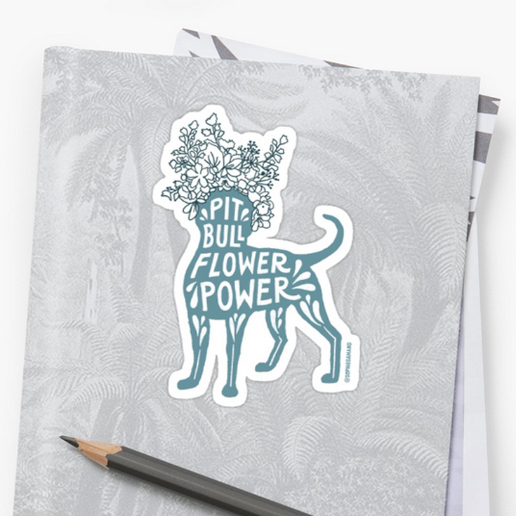 STICKERS.  This design is available in  pink  or  teal  and 4 sizes. Removable, individually die-cut vinyl. Ideal for smooth flat surfaces like laptops, journals, windows, etc. 1/8th of an inch white border around each design.