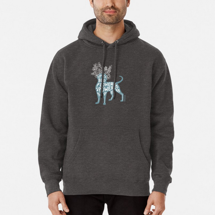 HOODIE (UNISEX).  Available with the  pink  or  teal  design, and on 6 hoodie colors. From S to 2XL. Heavyweight 9oz preshrunk cotton rich fleece made from 80% Cotton, 20% Polyester. Front pouch pocket, matching drawstring and rib cuffs. Ethically sourced following the World Responsible Apparel Practices Standards. Note: If you like your hoodies baggy go 2 sizes up.