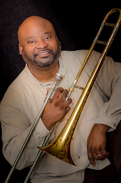 Scott Lee, Trombone Player - Musician  As One Jazz Band