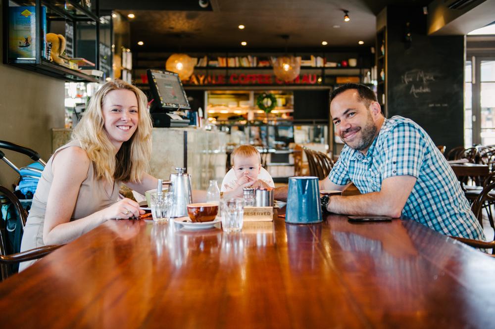 Adam, Heather and Mary Cetrangolo