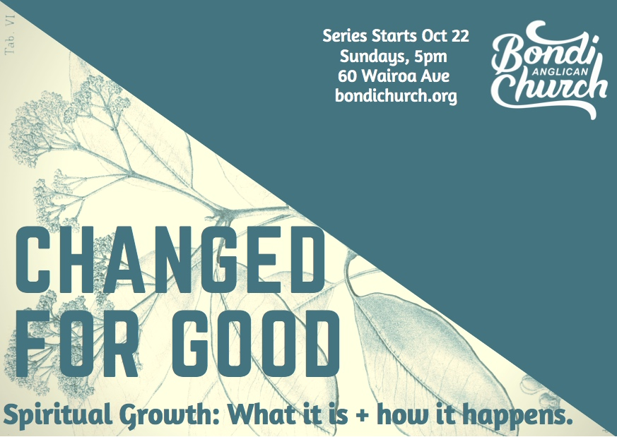 Upcoming series at Bondi Beach Anglican – 'Changed for good'