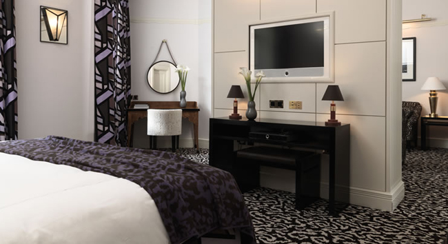 Custom cabinetry manufactured for Claridge's Hotel, London