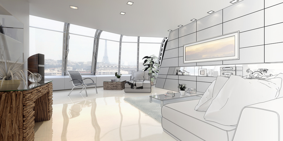 Interior Design and Rendering Services