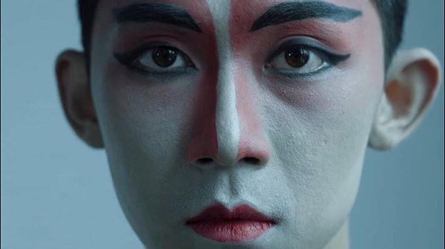 """I became insane, with long intervals of horrible sanity"" -Edgar Allan Poe . . ⠀⠀⠀⠀⠀⠀⠀⠀⠀ Filmgrab from my short film ""Transition featured ""KAZE, The Sound of my Soul"" Art Exhibition by B.G. Fabiola Natasha @kazekazumi . .  Featuring @affandi.1988 and Elise Orlowski . . SOHAM Creative Space Kencana Pajajaran Batik Lantai 3 Jl Kemang Raya 82 A Jakarta Seletan . . . Exhibition runs until September 23rd . . #art #painting #artexhibition #cinematography #cinematographer #odtakeovers #digitalnomad #performanceart #dance #dancevideo #postthepeople #makeportraitsnotwar #portraiture"
