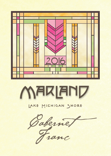MARLAND CABERNET FRANC - Intentionally vinified to belie its youthful character, this wine is perfumed, charming and precocious.   A dark garnet, medium body is filled with spicy red cherries, plums, cranberries, brown spices and earth.
