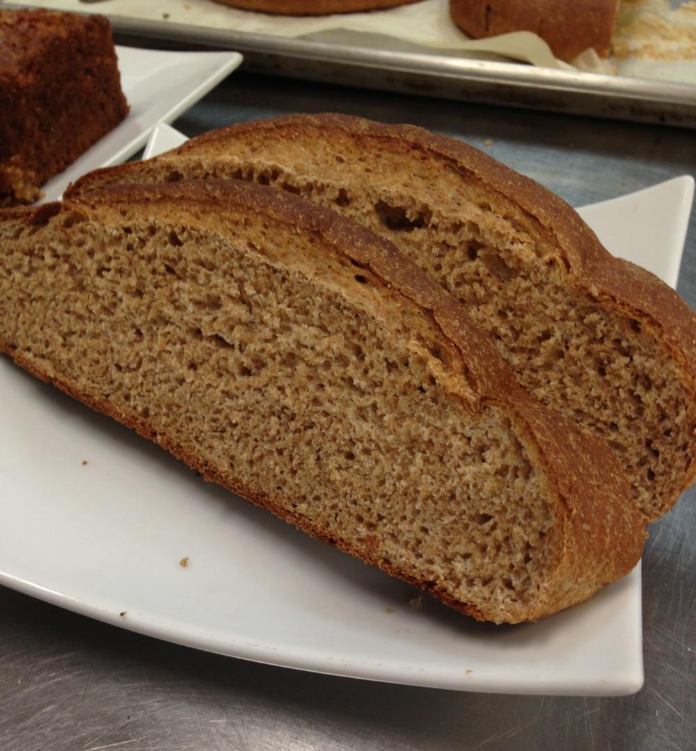 Whole wheat bread in class