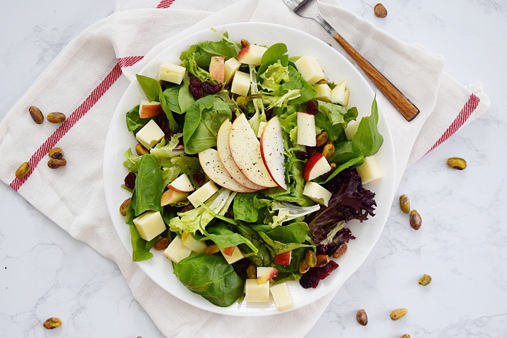 Apple Pistachio Salad
