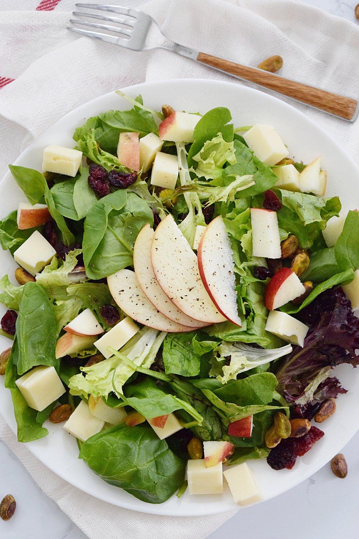 Apple Pistachio Salad