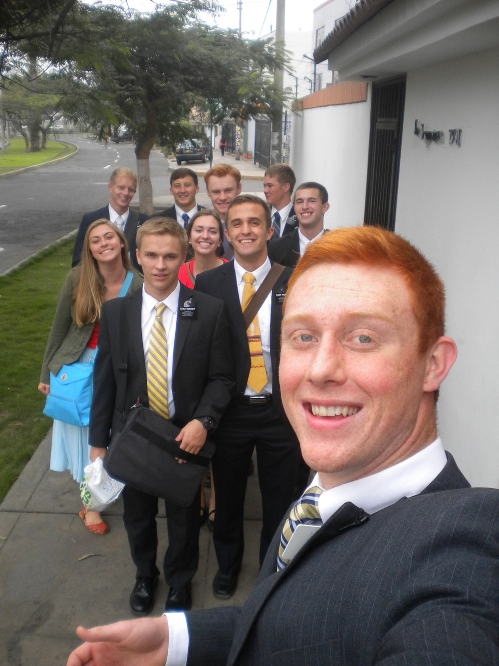 District Leader selfie!