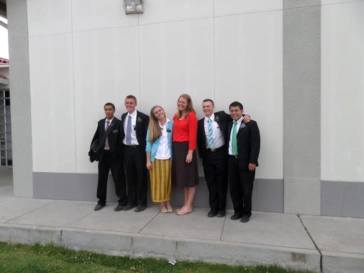Missionaries in Aeropuerto.