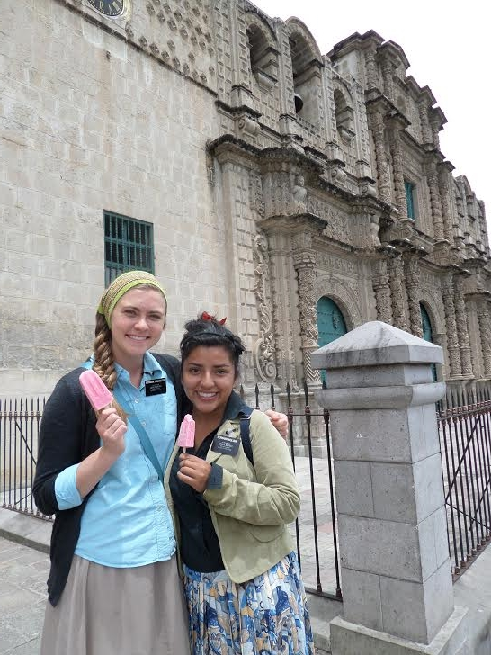 Hermana M has been in the mission for 6 months-- she trained for 3 and was a trainer for 3.
