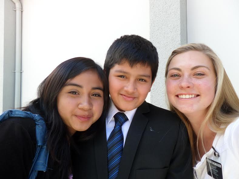 With Nicole & Samet.