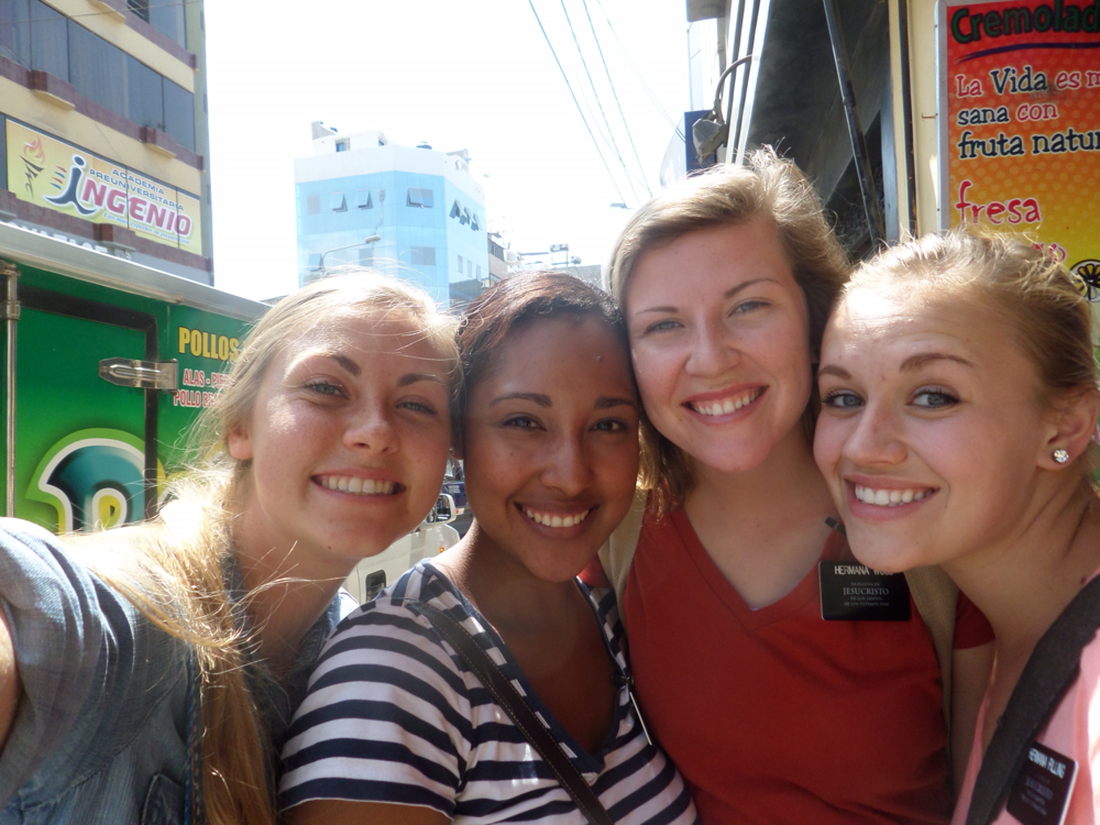 The four Hermana Leaders in the mission.