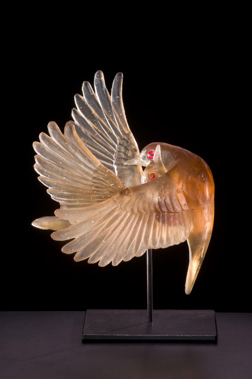 Bronze Embrace, Katherine Rutecki, 2008