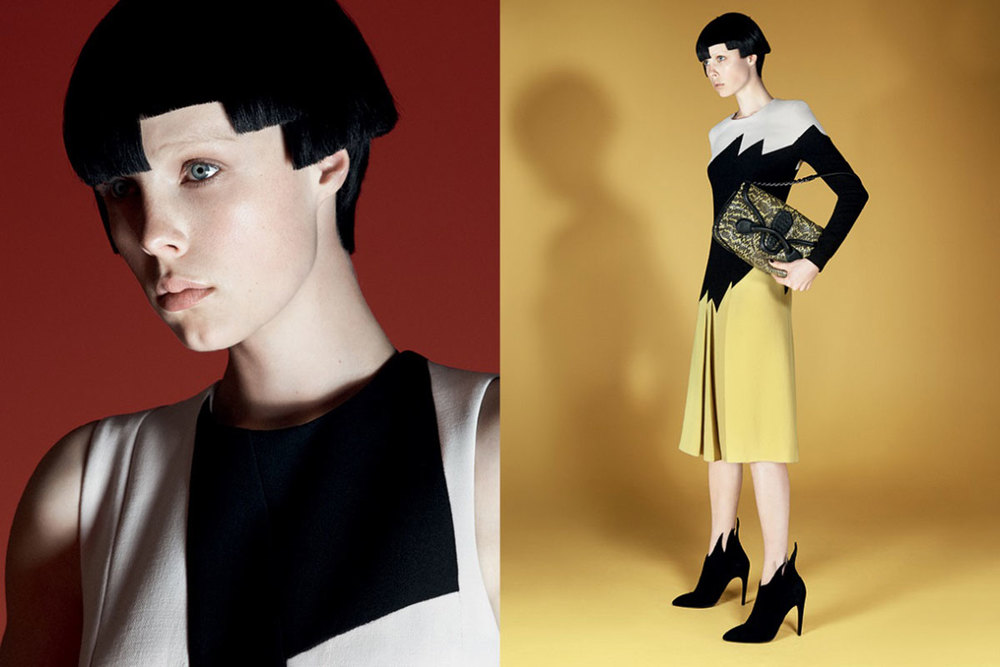 Bottega Veneta Model: Edie Campbell Photographer: David Sims Source: Bottega Veneta