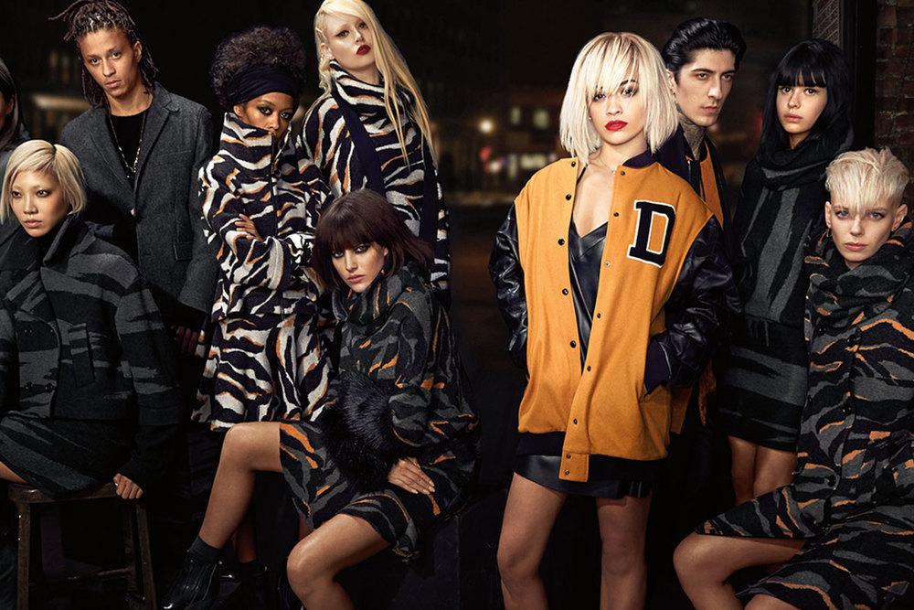 DKNY Model:Rita Ora, Soo Joo Park, A$AP ILLZ, and others for DKNY Photographer:Lachlan Bailey Source: DKNY