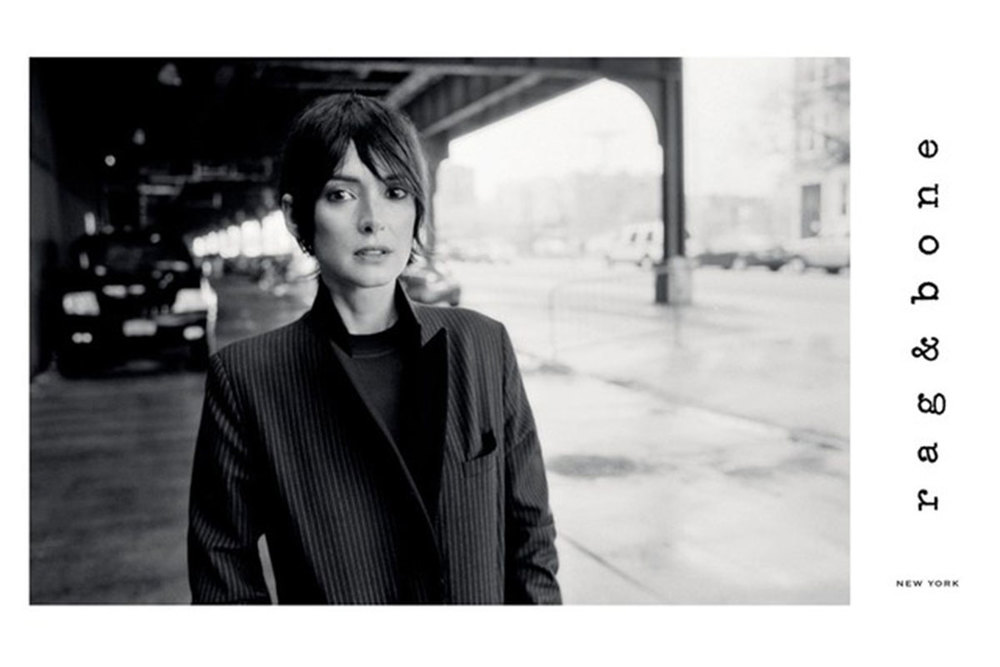 Rag & Bone Model: Winona Ryder Photographer: Glen Luchford Source: Rag & Bone