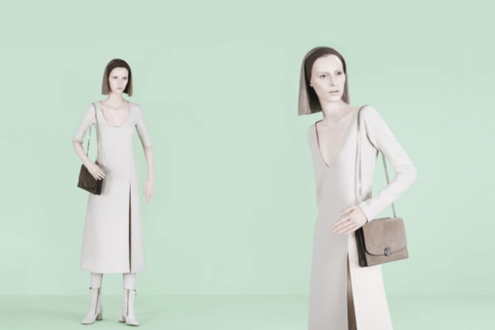 Marc Jacobs Model: Julia Nobis and Waleska Gorczevski Photographer: David Sims Source:Marc Jacobs