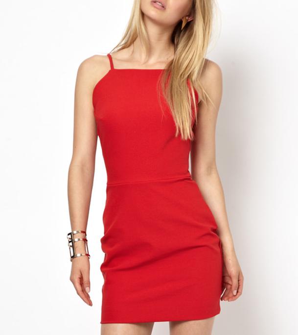 Red Dress - ASOS