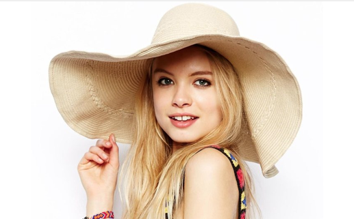 ASOS Oversized Straw Floppy Hat • Asos • $38.11