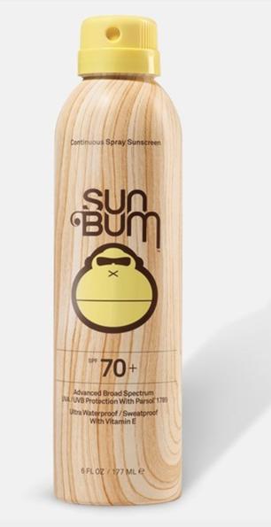 Sun Bum SPF 70 Sunscreen Lotion • $16.00