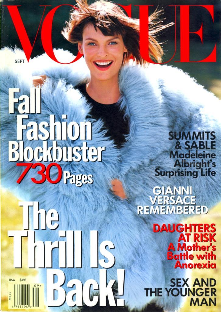 1997 Linda Evangelista