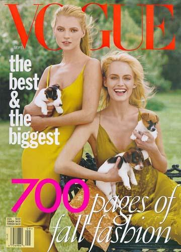 1996 Kate Moss & Amber Valletta