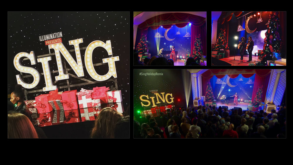 Universal Studios - Sing Holiday Remix Event at YouTube -