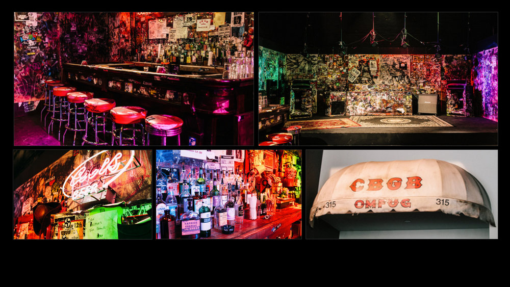 Google - CBGB's Experience @ YouTube Space  -