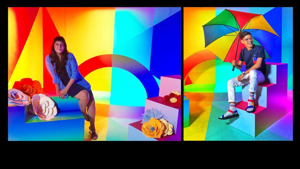 Instagram -  Color Block Photo Stop -