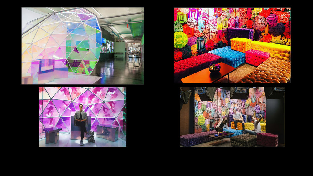 Instagram HQ - Lobby Photo Stop Dome and Live Vlog Room -
