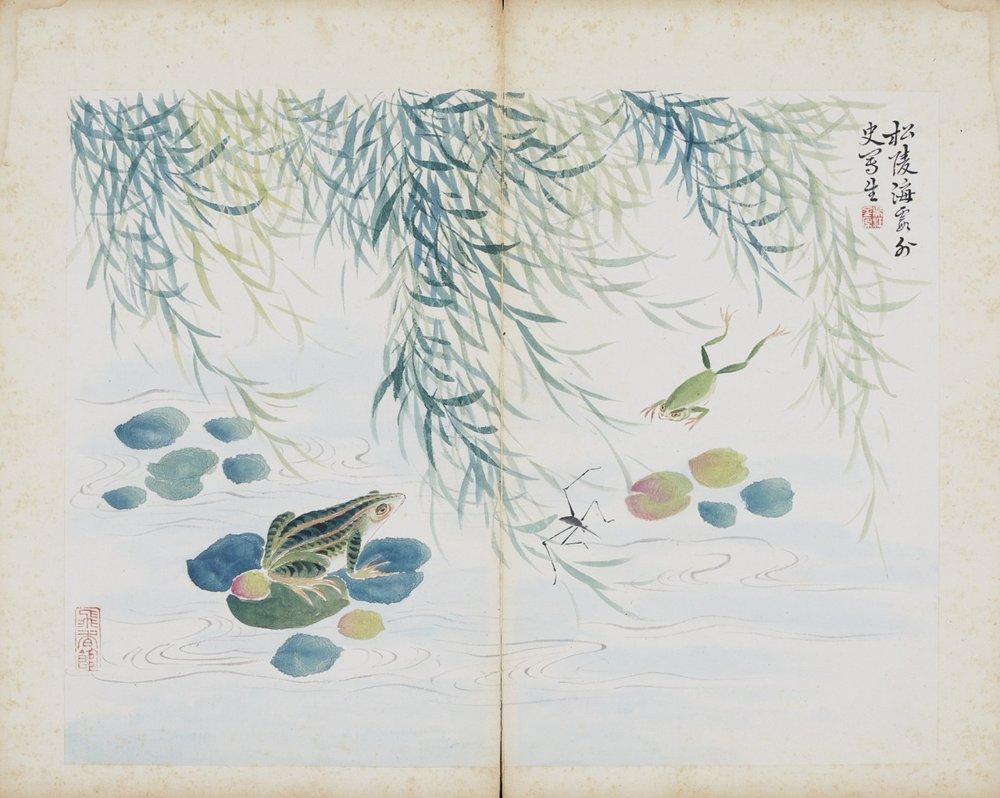 An album of paintings from Yuanxiangguan, Volume 23 , Jiang Buying