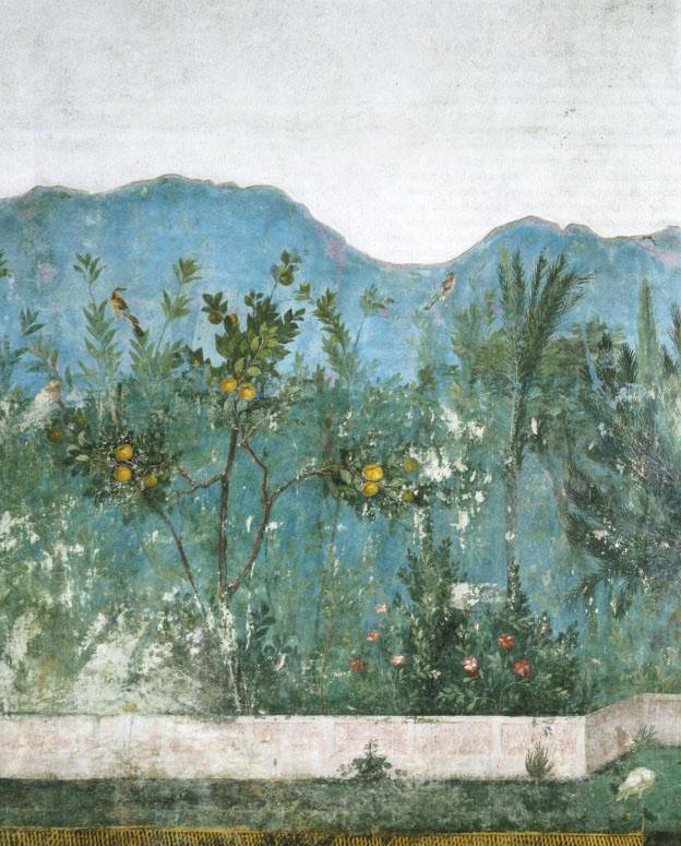 Fresco, House of Livia, Prima Porta, 1st Century B.C.