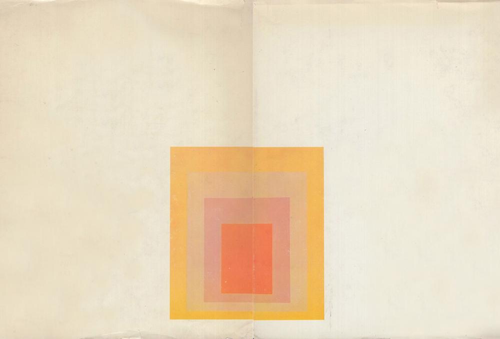 Josef Albers,  Untitled,  1967