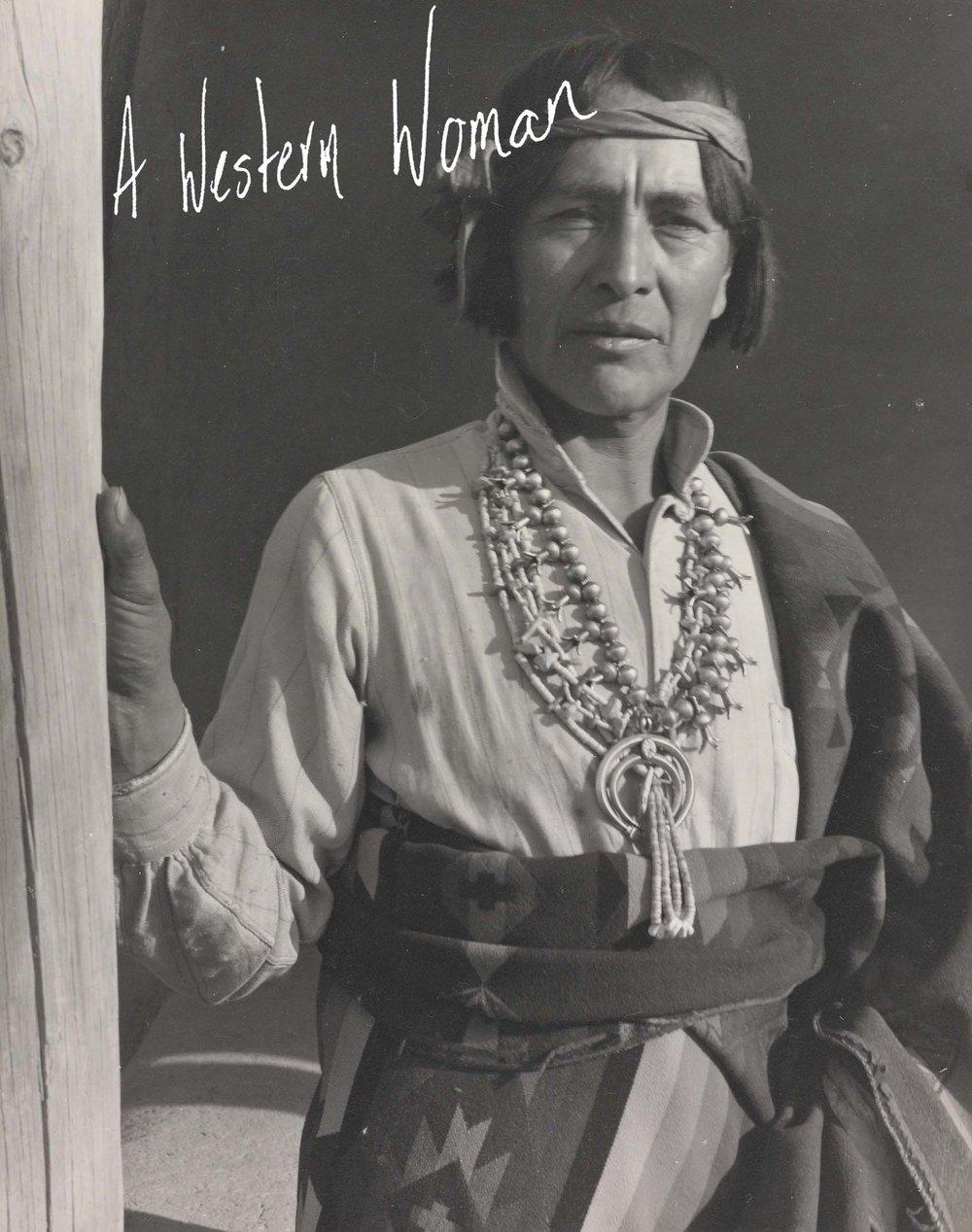 Laura Gilpin,  Tonita Peña ,  San Ildefonso, New Mexico , 1945. Gelatin silver print. Courtesy of The Amon Carter Museum of American Art, Fort Worth, Texas.