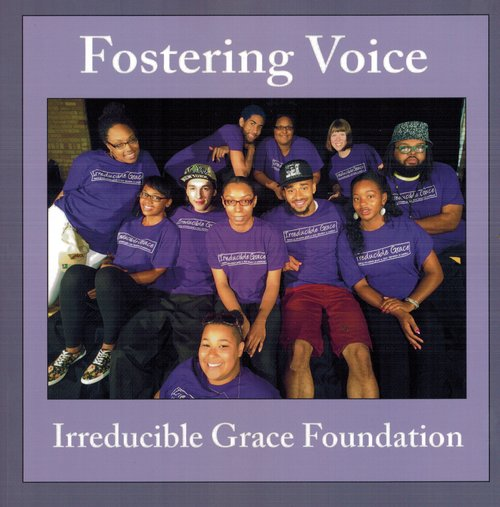Featuring original poems and narrative, as well as pictures and writing prompts, the Fostering Voice book was created by IGF young people as a way to be heard.  In the words of the editor, Anika Bowie: This is a book that you can use to listen to the voices of youth who have overcome homelessness, incarceration, abuse, neglect, child hunger, and lack of love and support.  The book follows the sequence of the Fostering Voice workshop, including chapters on fostering trust, community, voice, hope and action.  Contact us about purchasing copies of the book.