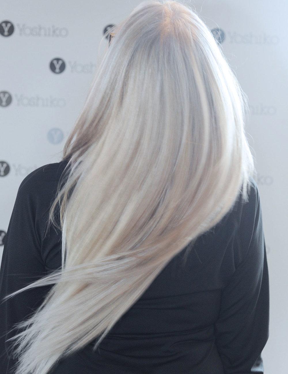 hair extensions stkilda hairdresser yoshiko hair